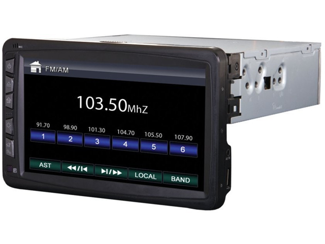 New Power Acoustik Pd712 In Dash 7
