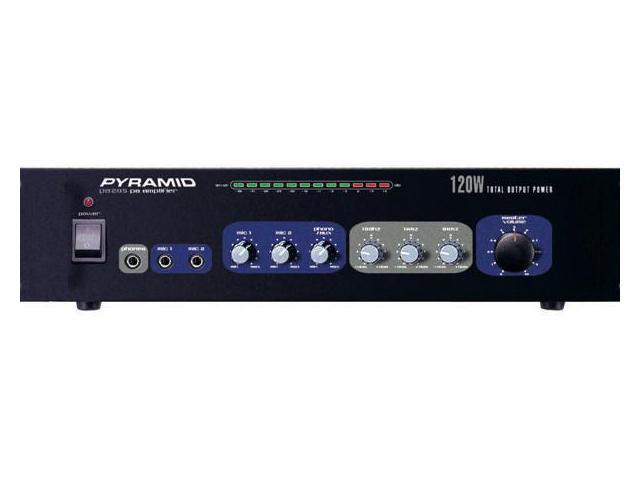 New Pyle Pa205 120W Professional Mic Mixer/Amplifier Amp 120 Watt