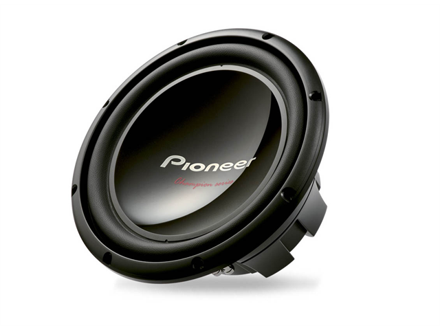 "NEW PIONEER TS-W309D4 Champion Series 12"" 1400W Dual 4 Ohm Subwoofer Sub Power"