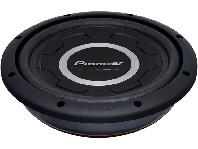 """New Pioneer Tssw2501s4 10"""" Shallow-Mount Car Audio Subwoofer Sub Ts-Sw2501s4"""