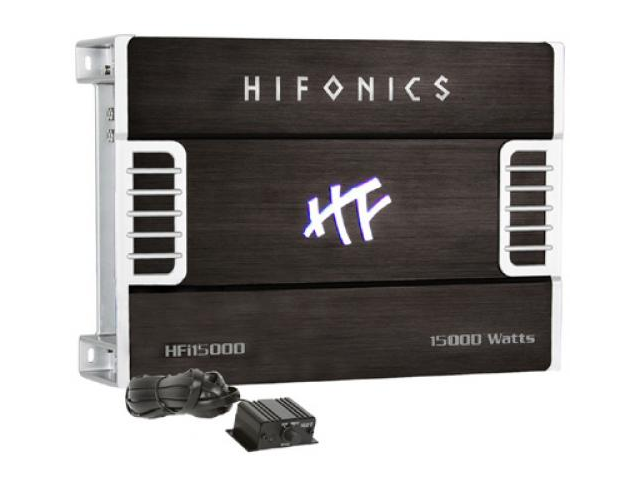 HIFONICS HFi1500D 1500 W Car Mono Class D Amplifier/Amp