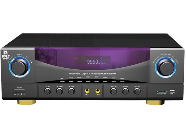 New Pyle Pt980auh 7.1 Ch Home Theater Am Fm Receiver & Amplifier