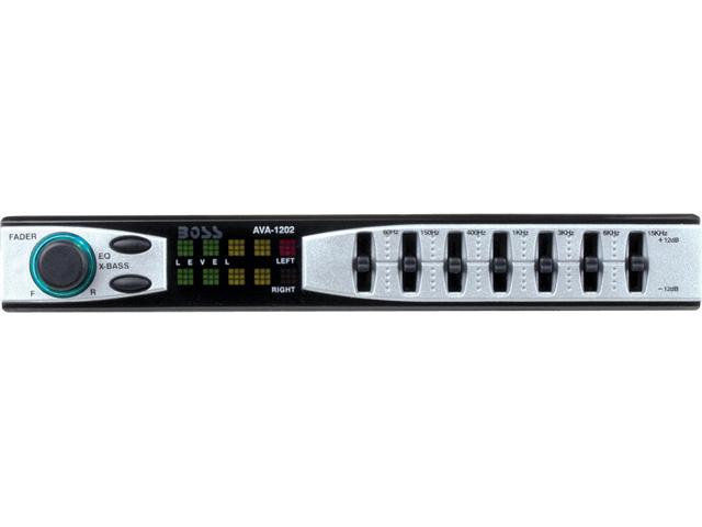 Boss In-Dash Car Audio                                            Model 1202