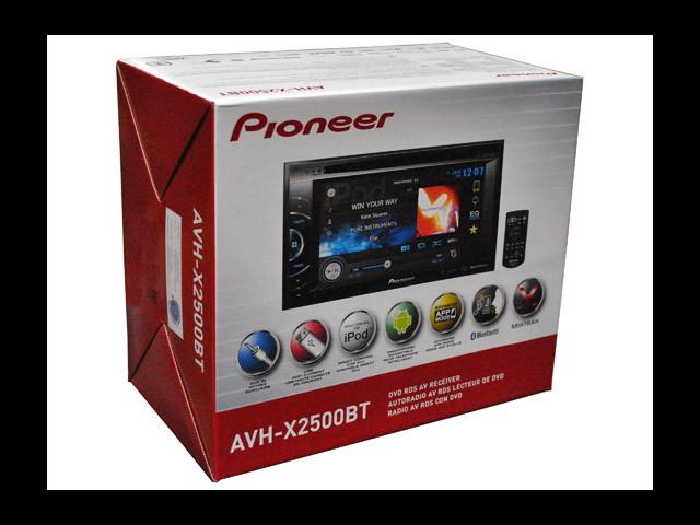 NEW PIONEER AVH-X2500BT 6.1