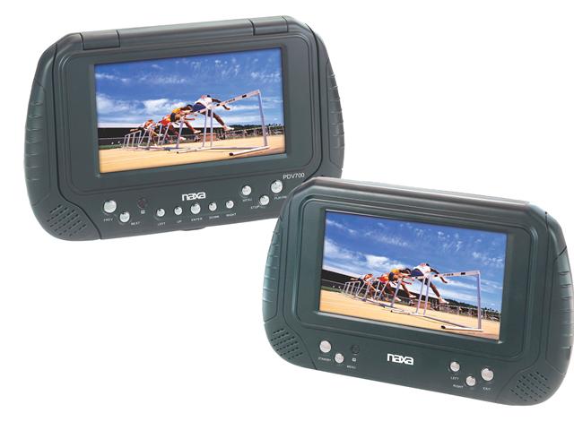 New Naxa Electronics Ncv-813 7-Inch Tft Lcd Multimedia Entertainment System