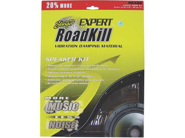 NEW PAC RKXSK 1.7 Sq Ft ROADKILL EXPERT SERIES SOUND DAMPING MATERIAL