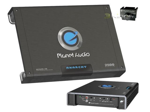 New Planet Audio Ac2500.1M 2500W Mono Car Amp Amplifier