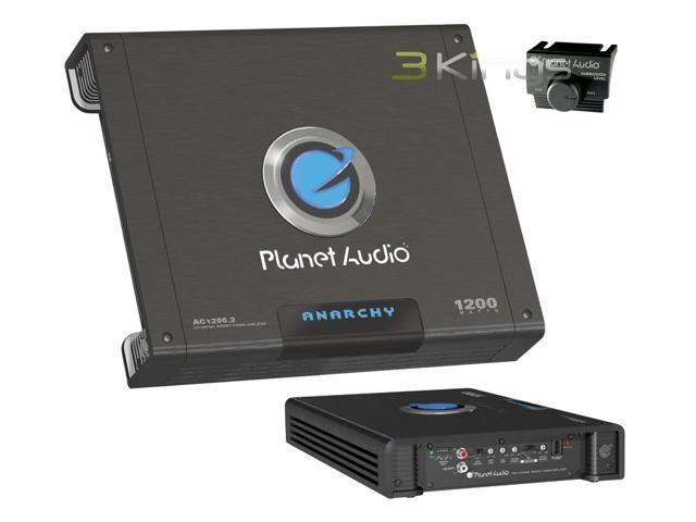 PLANET AUDIO AC1200.2 ANARCHY MOSFET Amp (2 Channel; 1,200W Max)