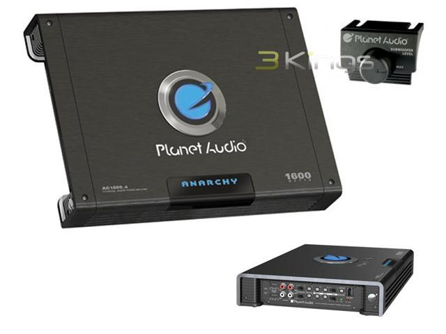PLANET AUDIO AC1600.4 ANARCHY Class AB Full-Range MOSFET Amp (4 Channels, 1,600 Watts Max)