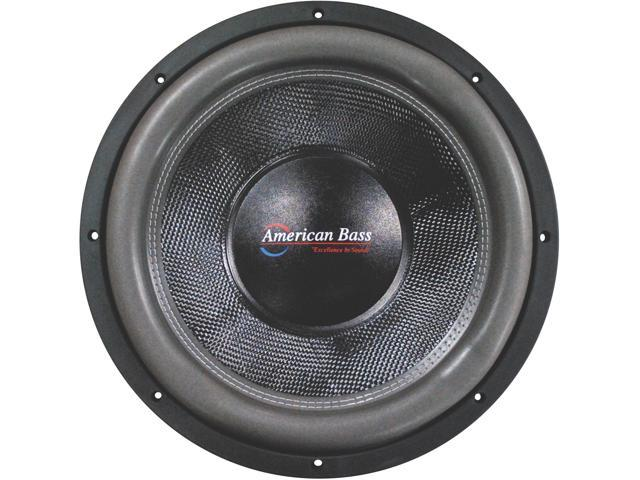 New American Bass Hd12d2 Hd Series 12