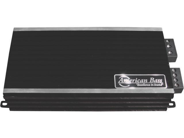 American Bass PH2500MD 2500W Max Class D Amplifier Phantom Micro-Technology