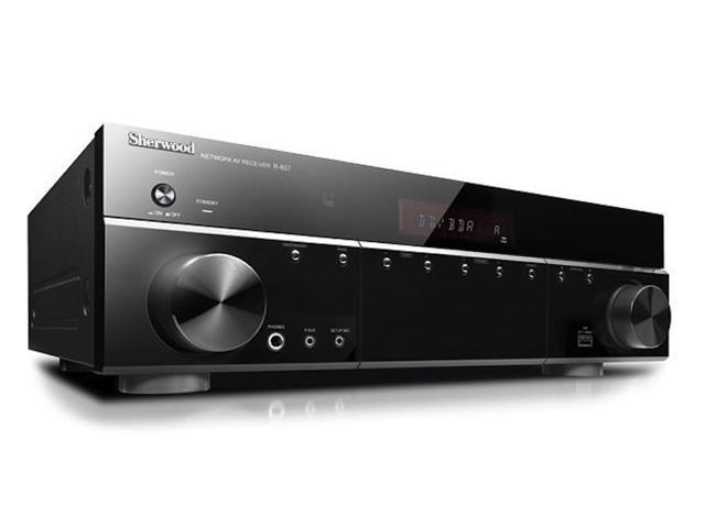 Sherwood R807 7.1-Channel World 1st 7.1ch A/V Receiver with WiFi-Direct