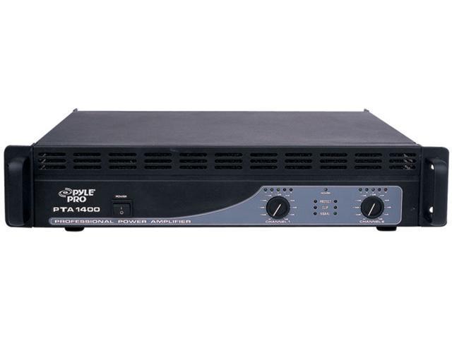 PylePro PTA1400 1400 Watts Professional Power Amplifiers