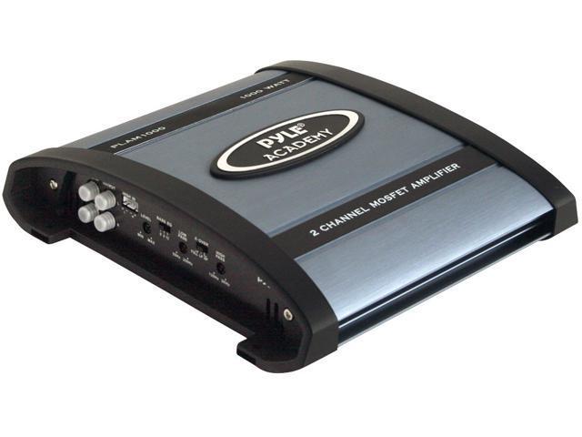 PYLE 1000 Watts 2 Channel Bridgeable Amplifier PLAM1000