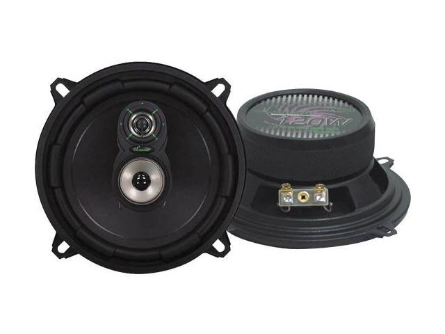 Lanzar - VX 5.25'' Three-Way Speakers
