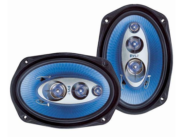 PYLE CAR AUDIO PL6984BL NEW 6 X 9 INCHES ONE PAIR 400 WATT FOUR WAY SPEAKERS