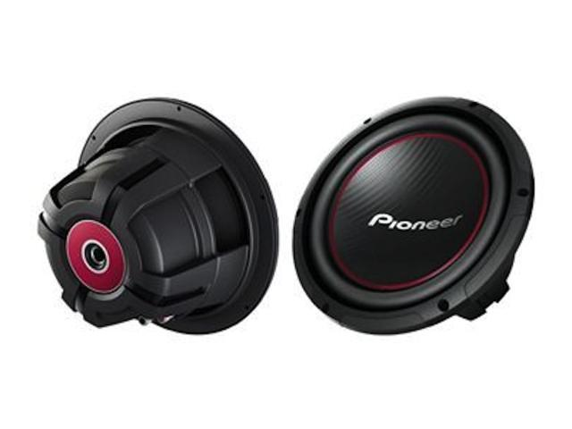 "New Pioneer Ts-W254r 1100 Watt 10"" Subwoofer Car Audio 4 Ohm Car Subwoofer Sub"