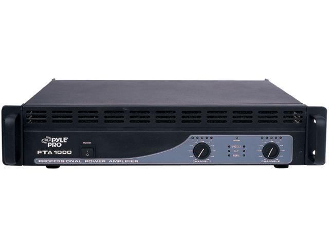 "New Pyle Pta1000 19"" 1000W Rack Mountable Professional Amplifier Amp 1000 Watt"