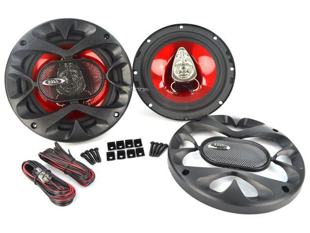 New Pair Boss Ch6530 300 Watt 6.5 Inch Speaker Car Audio 3-Way Car Speakers