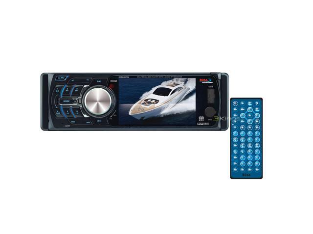 "BOSS AUDIO MR360UV 3.6"" Single-DIN In-Dash Marine CD Receiver"