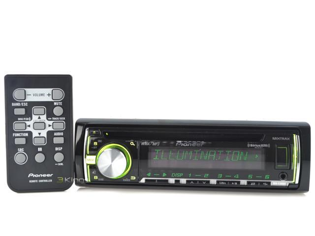 Pioneer Deh-X3600s CD Mp3 Receiver with iPod iPhone Control