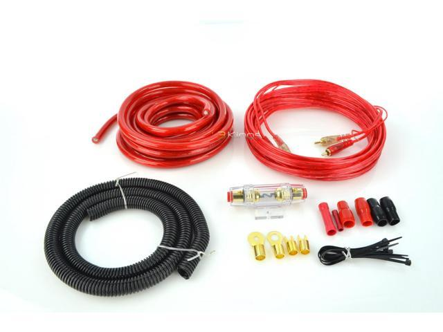 XXX XAK2500 4 Gauge Amplifier Install Kit