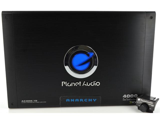 Planet Audio Ac4000.1D 4000W Monoblock Car Audio Power Amp Car Amplifier