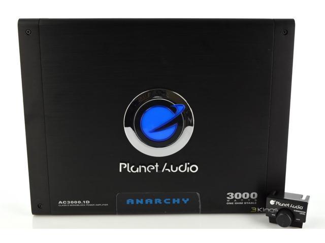 New Planet Audio Ac3000.1D 3000 Watt Class D Car Audio Mono Amplifier