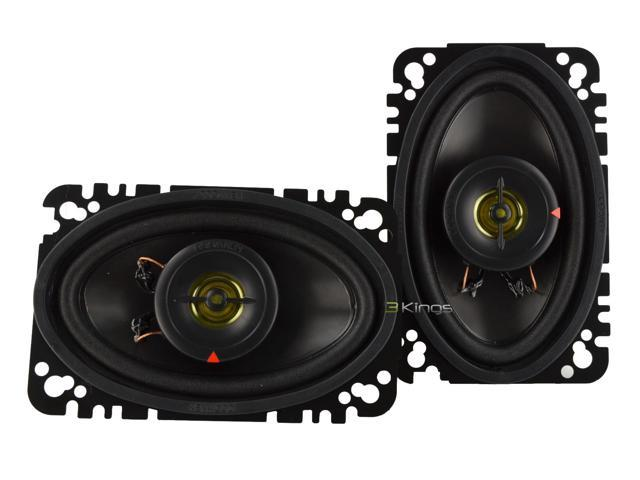 "New Kenwood Kfc-4675C 4""X6"" 2-Way 60W Car Audio Speaker Pair"