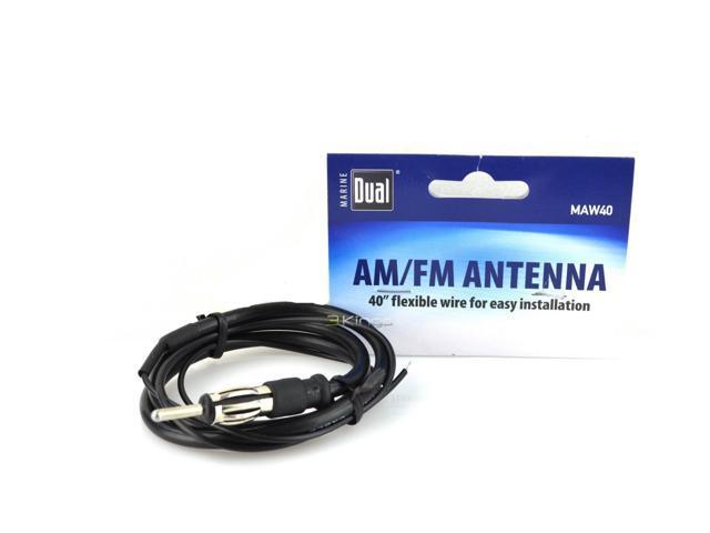 Dual Maw40 Universal Wire Marine Antenna