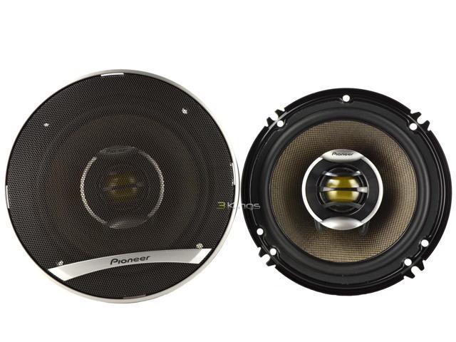 """New Pair Pioneer Ts-D1602r D-Series 6-1/2"""" 2-Way 520W Car Audio Speaker Pair"""