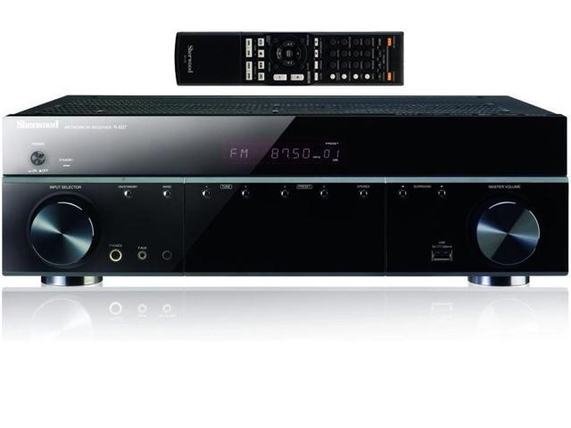 Sherwood R607 5.1 Audio Video Receiver With Lossless Audio