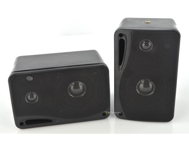Pyramid 200 Watts 3-Way Mini Box Speaker System