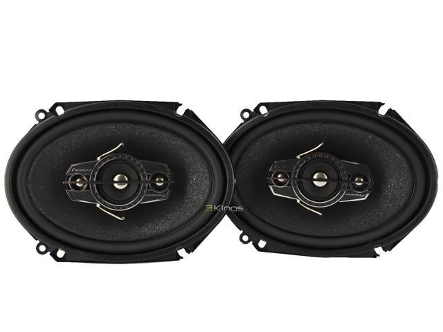 New Pair Pioneer Ts-A6885r 5X7/6X8 Car Audio Speakers 4 Way 350 Watts Tsa6885r