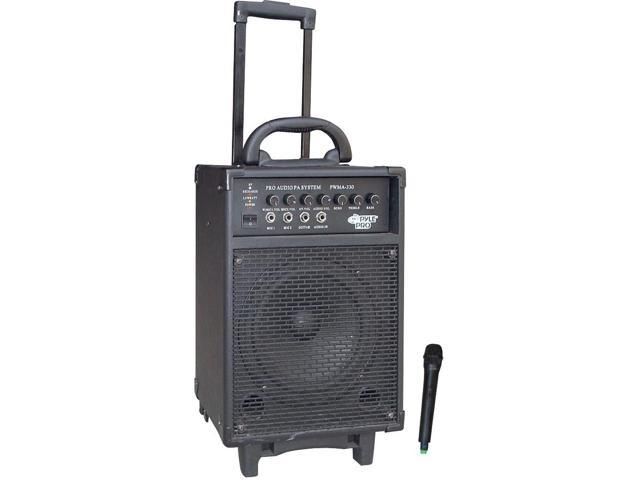 New Pyle Pwma330 300W Battery Powered Wireless Pa Speaker Pro Audio Equipment