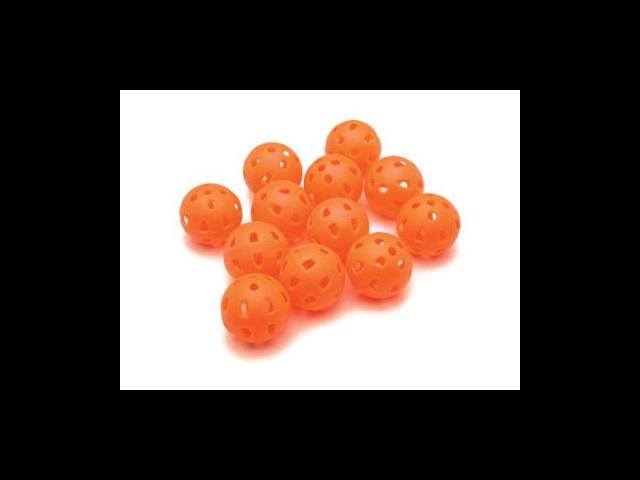 Proactive 12-Pack Deluxe Practice Balls - Orange