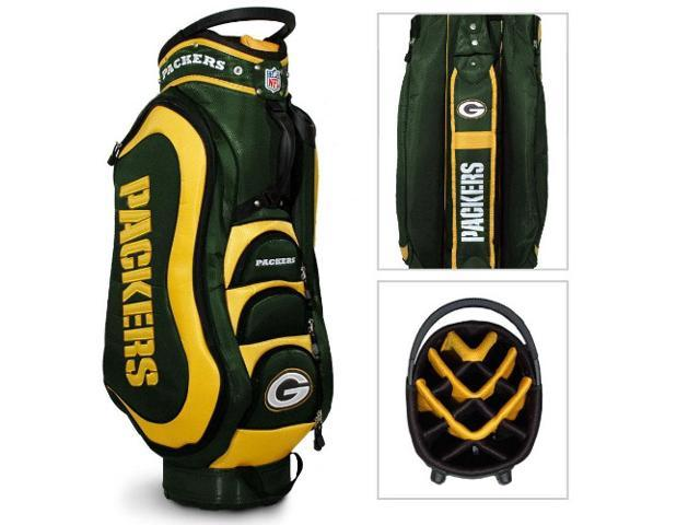 Team Golf NFL Medalist Cart Bag - Green Bay Packers (Green/Yellow) - New