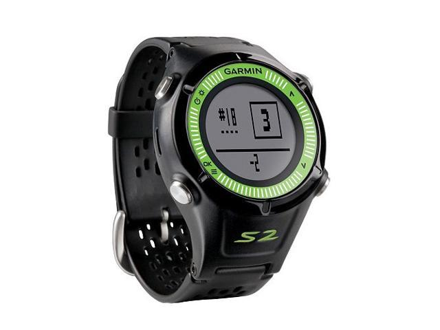 Garmin Approach S2 GPS Watch-Black/Green
