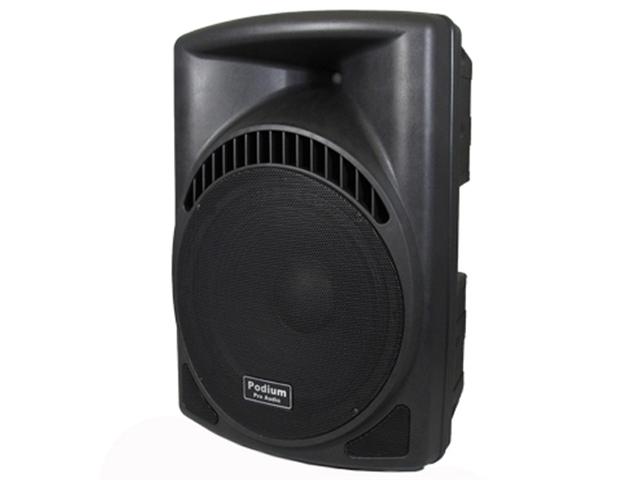 "Podium Pro 900 Watts Band DJ PA Karaoke Active Powered 15"" Loud Speaker w/ Bluetooth PP1504CD1B"