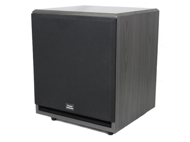 "Theater Solutions SUB12F Black 500 Watt Surround Sound HD Home Theater Powered Active 12"" Subwoofer"