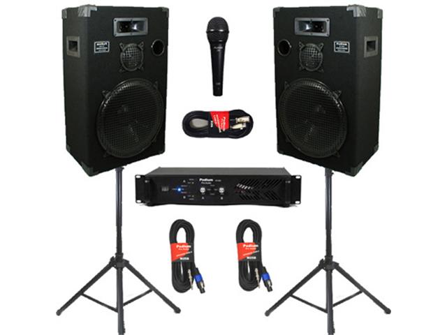 Podium Pro Audio Speakers Podium Pro Studio Speakers 15 Quot