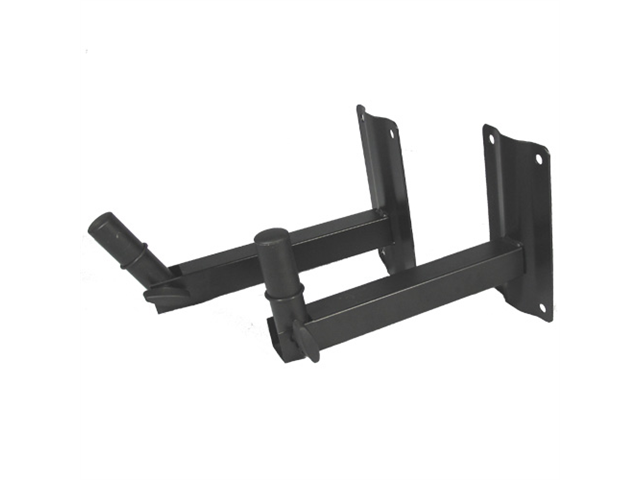 Podium Pro WM2 Pair Steel Wall Mount Speaker Stand Pivoting Mounts