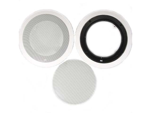 Theater Solutions 8CFG Frames and Grills for 8 Inch In Ceiling Speakers