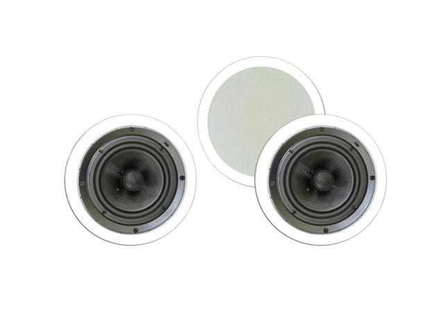 """Theater Solutions 6.5"""" In Ceiling Deluxe HD Home Theater 3 Speaker Set 750 Watts TSS6C-3S"""