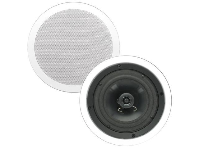 Theater Solutions CS6C In Ceiling 6.5 Inch Surround Home Theater Contractor Pair