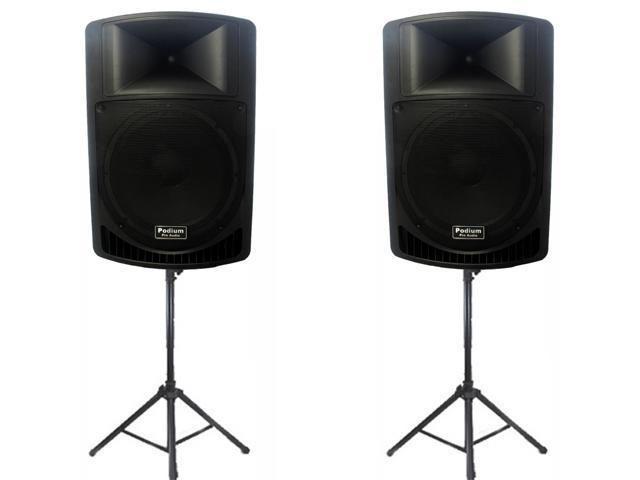 Podium Pro Audio Speakers Podium Pro Audio Pp1506a