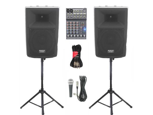 Podium Pro Audio Speakers Podium Pro Audio Pp1007a