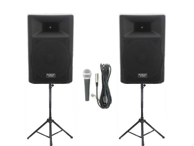 Podium Pro Audio Speakers Podium Pro Audio Pp1507a