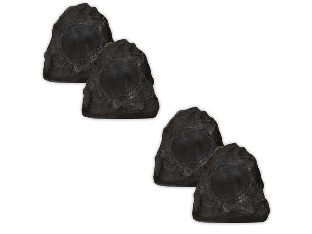 Acoustic Audio G4RS Granite 800 Watts Outdoor Weatherproof Rock Speakers 2 Pair Pack G4RS-2Pr