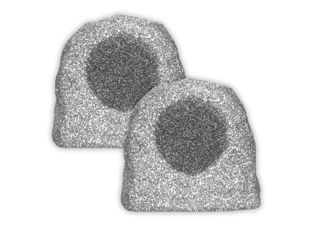 Acoustic Audio RS6GG Granite 500 Watt Outdoor Patio Rock Speaker Pair Weatherproof RS6GG-Pr